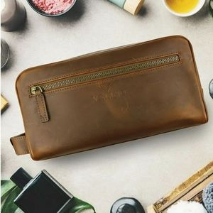 Velino Handmade Unisex Toiletry Bag